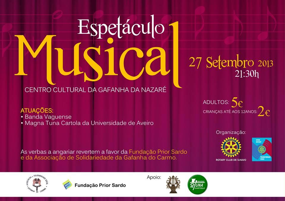 Espetáculo Musical - Centro Cultural da Gafanha da Nazaré